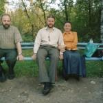 Я, о.Сергий и матушка Людмила Ефимовы.