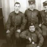 Алексей, братья Разинковы и я